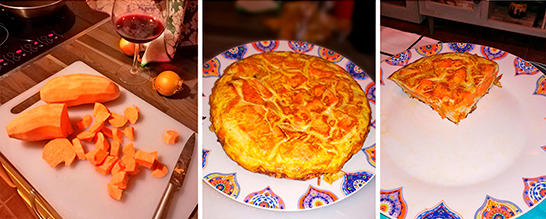 TORTILLA DE BONIATOS